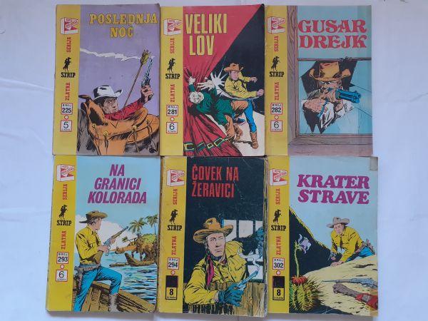 #Lot od 6 starih stripova ZS Teks od 1 kune!
